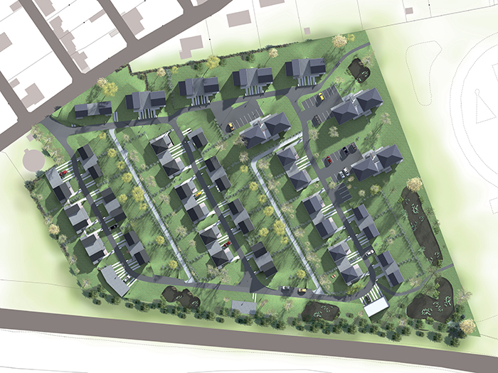 Plan Masse - 62 logements individuels & collectifs